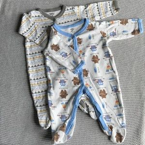 Southwest-inspired Pajamas 0-3M